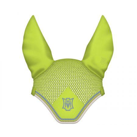 Ohrenkappe Gr. L apfelgrün (Musterware)