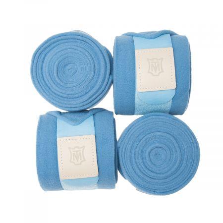 Fleece bandages cornet blue