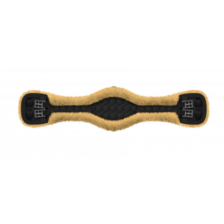 Short quilted anatomic girth