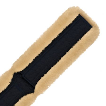 Lambskin Girth Strap Cover universal