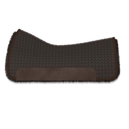 Square Pad Gr.L brown/brown