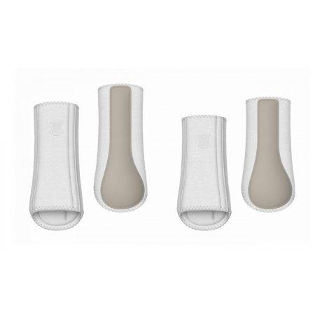 Hi-Pro Fleece Gamasche Gr. L weiß/champagne (Einzelstück)